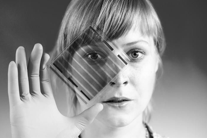 4 Beschichtung der SchirmoberflÑchen_transparentes organisches Solarmoduls
