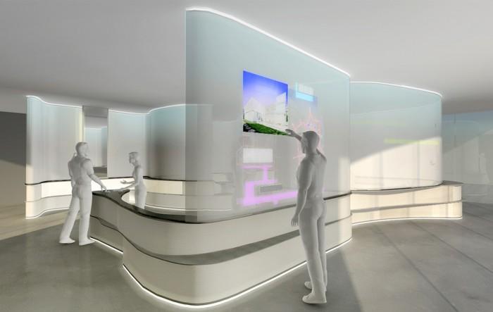 Eingangsbereich + Interaktive Karte