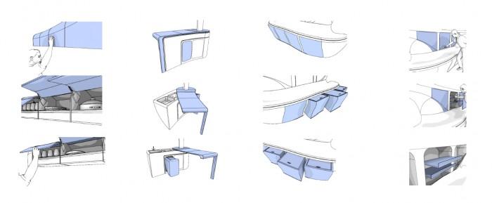 Flexible Möbelsysteme
