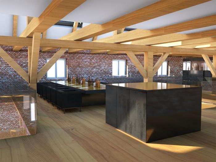 Whiskytasing und Bar im 1OG